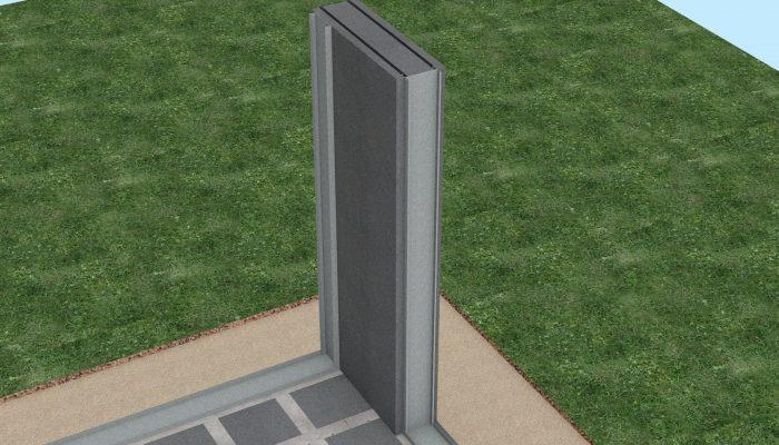 В процессе сборки стеновых блоков используются стальные оцинкованные самонесущие профиля для организации основного каркаса здания, а также для дальнейшего крепления гипсокартона внутри помещений и наружных фасадных панелей. Крепления профилей к друг другу осуществляется с помощью самонарезных болтов.